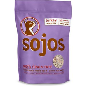 Sojos Complete Turkey Recipe Dehydrated Cat Food