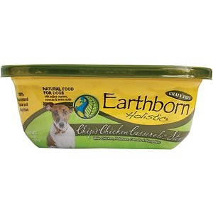 Earthborn Holistic Chip's Chicken Casserole Grain-Free Natural Moist Dog Food