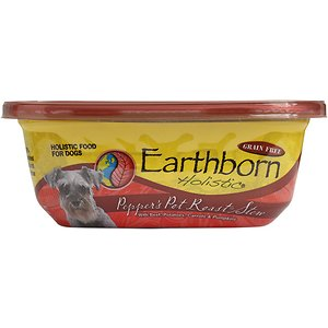 Earthborn Holistic Pepper's Pot Roast Grain-Free Natural Moist Dog Food