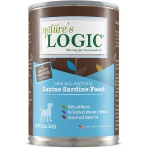 Nature's Logic Canine Sardine Feast Grain-Free Canned Dog Food