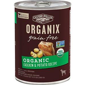Castor & Pollux Organix Grain-Free Organic Chicken & Potato Recipe Adult Canned Dog Food