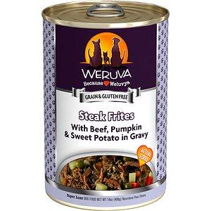 Weruva Steak Frites with Beef