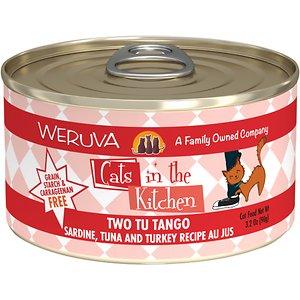 Weruva Cats in the Kitchen Two Tu Tango Sardine