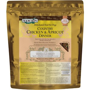 Addiction Country Chicken & Apricot Dinner Grain-Free Raw Dehydrated Dog Food