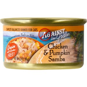 Against the Grain Chicken & Pumpkin Samba Dinner Grain-Free Canned Cat Food