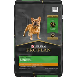 Purina Pro Plan Adult Small Breed Chicken & Rice Formula Dry Dog Food