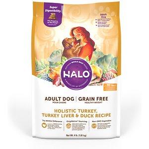 Halo Holistic Healthy Weight Grain-Free Turkey