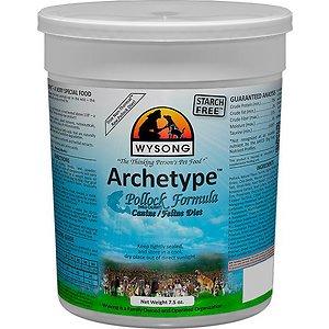 Wysong Archetype Pollock Formula Freeze-Dried Raw Dog & Cat Food