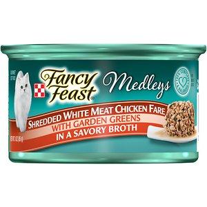 Fancy Feast Medleys Shredded White Meat Chicken Fare Canned Cat Food