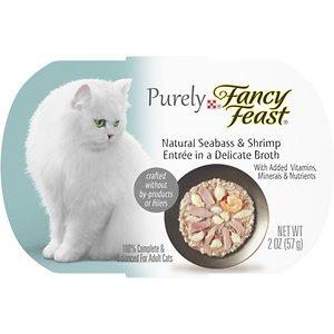 Fancy Feast Purely Seabass & Shrimp Wet Cat Food