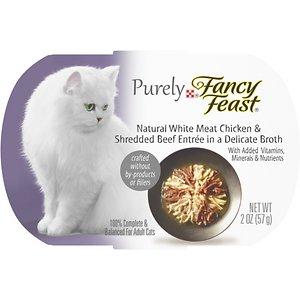 Fancy Feast Purely White Meat Chicken & Shredded Beef Wet Cat Food