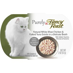 Fancy Feast Purely White Meat Chicken & Flaked Tuna Wet Cat Food