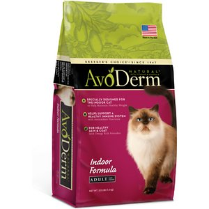 AvoDerm Natural Indoor Formula Adult Dry Cat Food