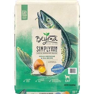 Purina Beyond Simply Grain-Free Ocean Whitefish & Egg Recipe Dry Cat Food