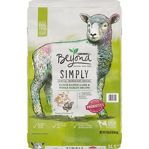 Purina Beyond Simply Ranch Raised Lamb & Whole Barley Recipe Dry Dog Food