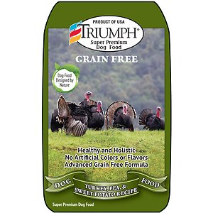 Triumph Free Spirit Grain-Free Deboned Turkey & Sweet Potato Recipe Dry Dog Food