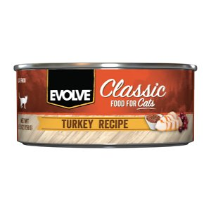 Evolve Classic Turkey Recipe Canned Cat Food