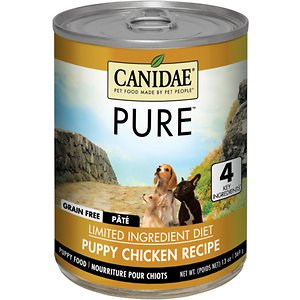 CANIDAE Grain-Free PURE Puppy Limited Ingredient Chicken Formula Canned Dog Food