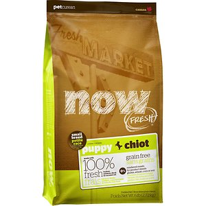Now Fresh Grain-Free Small Breed Puppy Recipe Dry Dog Food
