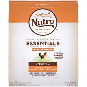 Nutro Wholesome Essentials Healthy Weight Adult Farm Raised Chicken