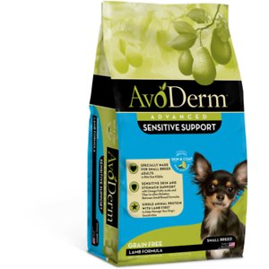 AvoDerm Advanced Sensitive Support Lamb Formula Grain-Free Small Breed Adult Dry Dog Food