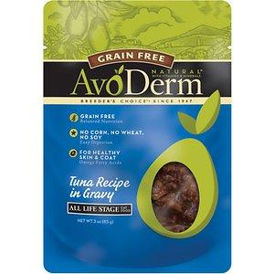 AvoDerm Natural Grain-Free Tuna Recipe in Gravy Cat Food Pouches