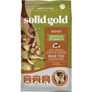 Solid Gold Buck Sensitive Stomach Grain-Free Wild Venison