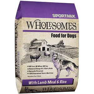 SPORTMiX Wholesomes with Lamb Meal & Rice Formula Dry Dog Food