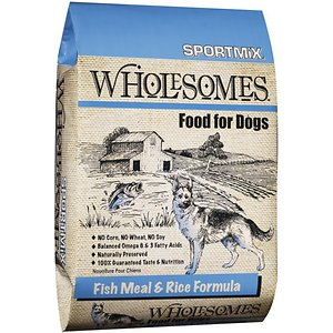 SPORTMiX Wholesomes with Fish Meal & Rice Formula Adult Dry Dog Food