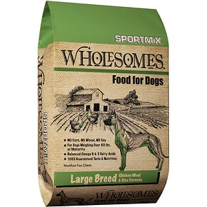SPORTMiX Wholesomes Large Breed with Chicken Meal & Rice Formula Adult Dry Dog Food