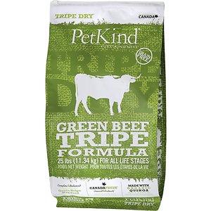 PetKind Tripe Dry Grain-Free Green Beef Tripe Formula Dry Dog Food