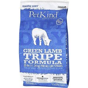 PetKind Tripe Dry Grain-Free Green Lamb Tripe Formula Dry Dog Food