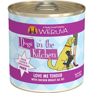 Weruva Dogs in the Kitchen Love Me Tender with Chicken Breast Au Jus Grain-Free Canned Dog Food