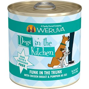 Weruva Dogs in the Kitchen Funk in the Trunk with Chicken Breast & Pumpkin Au Jus Grain-Free Canned Dog Food