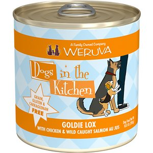Weruva Dogs in the Kitchen Goldie Lox with Chicken & Wild Caught Salmon Au Jus Grain-Free Canned Dog Food