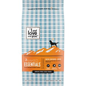 I and Love and You Naked Essentials Grain-Free Chicken & Duck Recipe Dry Dog Food
