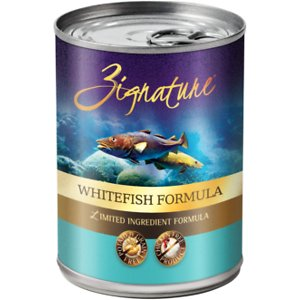 Zignature Whitefish Limited Ingredient Formula Grain-Free Canned Dog Food