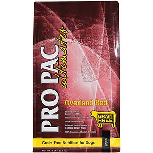 Pro Pac Ultimates Overland Grain-Free Red Beef & Potato Dry Dog Food