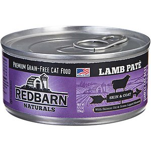 Redbarn Naturals Lamb Pate Skin & Coat Grain-Free Canned Cat Food