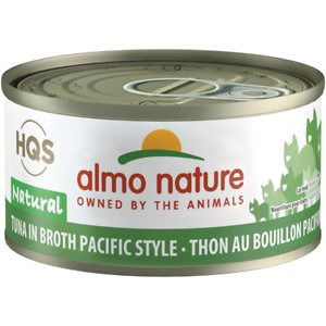 Almo Nature HQS Natural Tuna in Broth Pacific Style Grain-Free Canned Cat Food