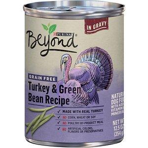 Purina Beyond Turkey & Green Bean Recipe in Gravy Grain-Free Canned Dog Food