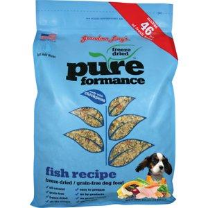Grandma Lucy's Pureformance Fish Recipe Grain-Free Freeze-Dried Dog Food
