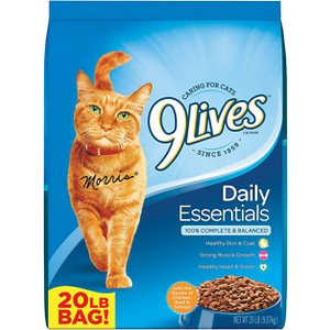 9 Lives Daily Essentials with Chicken