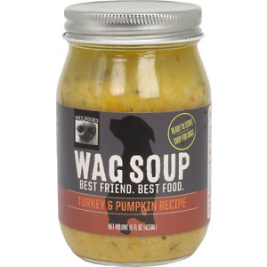Wet Noses Wag Soup Turkey & Pumpkin Recipe Canned Dog Food