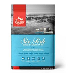ORIJEN Six Fish Grain-Free Dry Cat Food