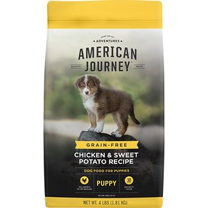 American Journey Puppy Chicken & Sweet Potato Recipe Grain-Free Dry Dog Food