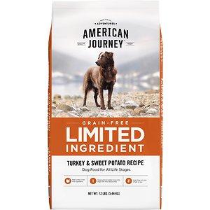 American Journey Limited Ingredient Turkey & Sweet Potato Recipe Grain-Free Dry Dog Food