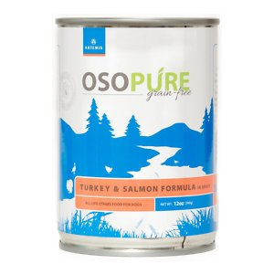 Artemis Osopure Grain-Free Turkey & Salmon in Gravy Canned Dog Food