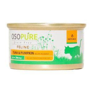 Artemis Osopure Tuna & Pumpkin Recipe in Gravy Grain-Free Canned Cat Food