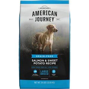American Journey Large Breed Adult Salmon & Sweet Potato Recipe Grain-Free Dry Dog Food